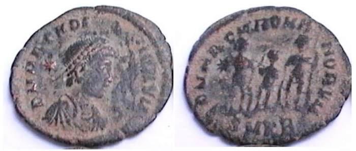 مسكوكات الامبراطور آركاديوس _cyzicus_RIC_148.1
