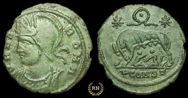 AE4 Conmemorativa de Roma. _arles_RIC_379