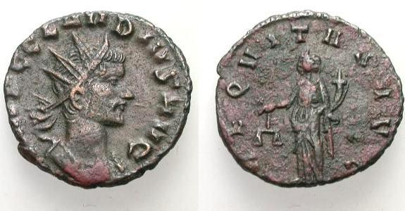 Antoniano de Claudio II. ANNONA AVG. Roma. RIC_0014