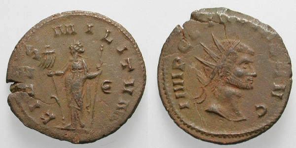 Antoniniano de Claudio II RIC_0037v