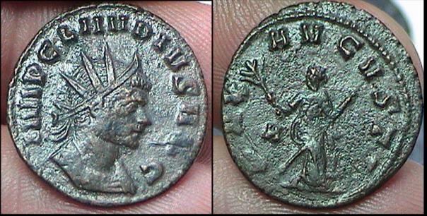 Antoniniano de Claudio II RIC 81 RIC_081var