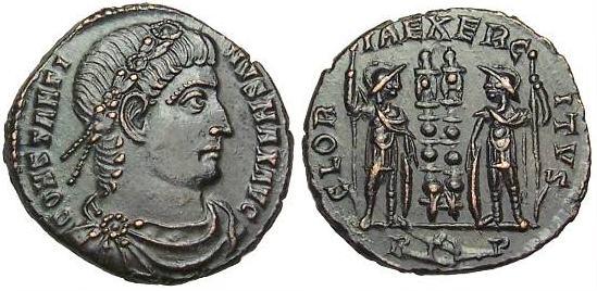 AE3 de Constantino I _rome_RIC_VII_350