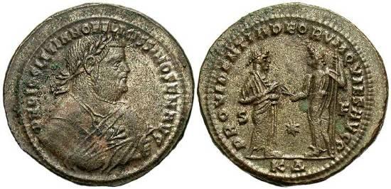 Follis de Diocleciano post-abdicación _cyzicus_RIC_029a
