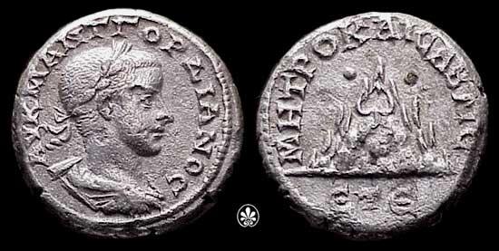 Dracma de Gordiano III (Caesarea) Syd_604a