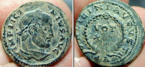 AE3 de Licinio I _arles_RIC_vII_229