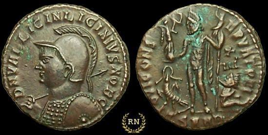 AE3 de Licinio II. IOVI CONSERVATORI. Heraclea? _nicomedia_RIC_049