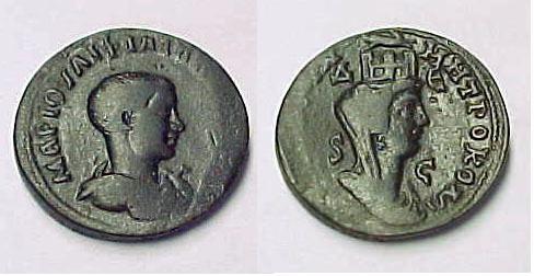 AE30 Provincial de Filipo II (Antioquía) _antioch_AE8As_SNGCop_277