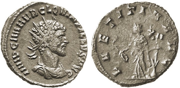 Antoniniano de Quintilo RIC_0022_XII_right
