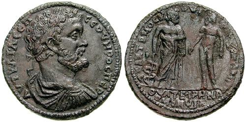 """GROSSE ROMAINE"" à identifier _thyatira_AE44_Nolle_2299"