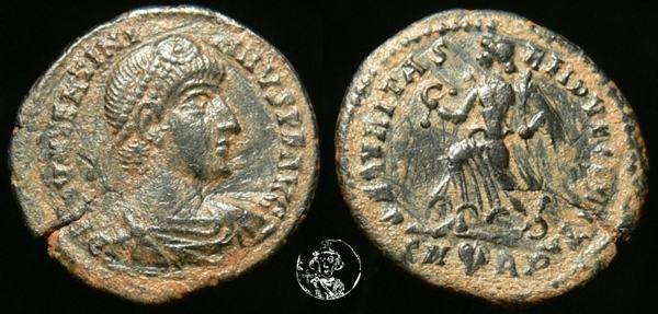 AE3 de Valentiniano I _rome_RIC_024a