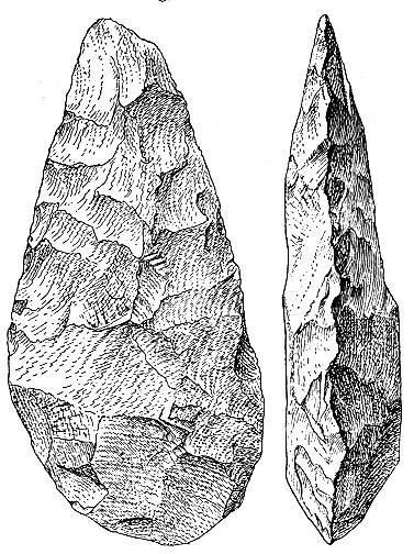 El origen y el significado del Simbolismo/Arte, en los albores de la humanidad OlorgesailieHandaxe-Oakley-p70