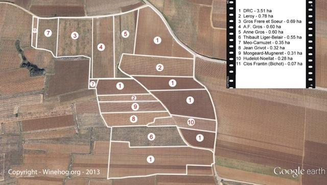 Vosne Romanée: villages et premiers crus 20130302-145149