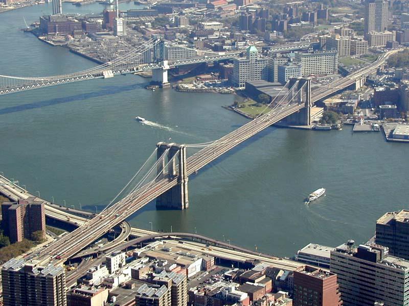 cidades de referencia e beleza  Brooklyn_bridge_wtc