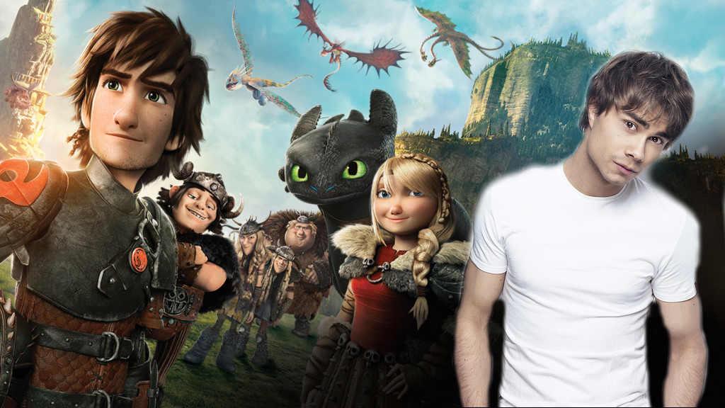 Into a Fantasy: Chanson officielle pour l'Europe de Dragons 2 Dragon-alexander-rybak