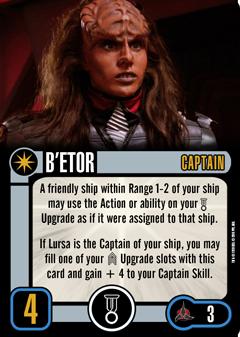 [OP Vorschau] Klingon Civil War - Baiting the Romulans Captain-BETOR
