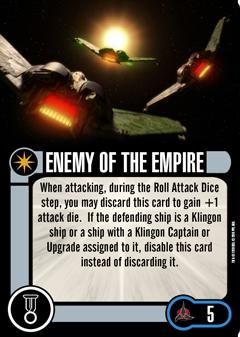 [OP Vorschau] Klingon Civil War - Baiting the Romulans Elite-Talent-ENEMY-OF-THE-EMPIRE