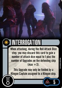 [OP Vorschau] Klingon Civil War - Baiting the Romulans Elite-Talent-INTERROGATION