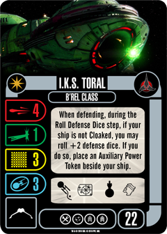 [OP Vorschau] Klingon Civil War - Baiting the Romulans Starship-IKS-TORAL