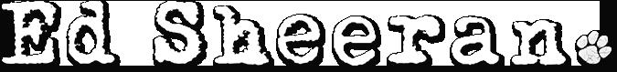 Ed Sheeran Ed_logo