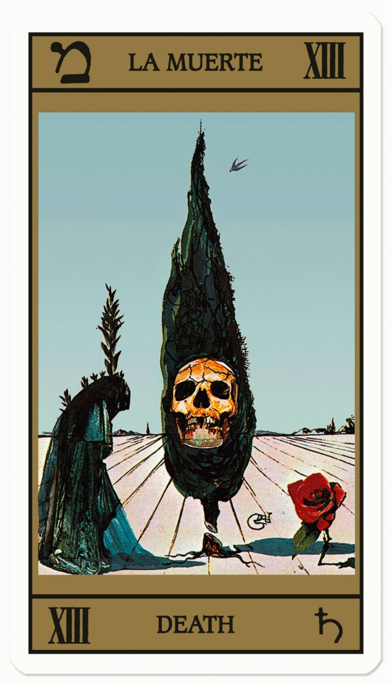 Salvador Dalí's 1870s Surreal Tarot Card Designs Being Released as a Complete Deck Vefw-1-1-768x1344