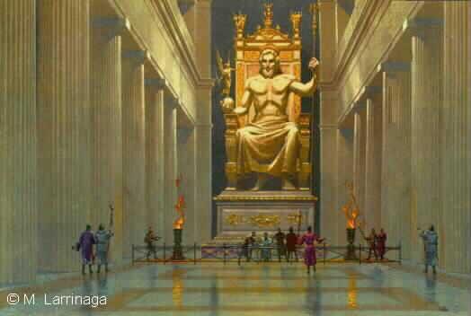 Les 7 merveilles du monde Zeus