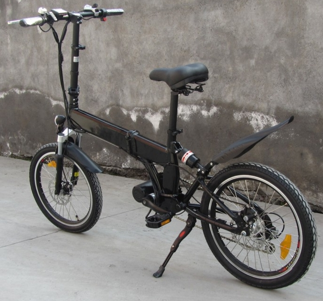 "Ebicis con motor central y ""económicas""  (plegable y rigida) Zephyr-cd"