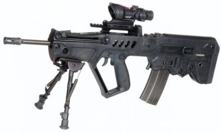 الجيش الإسرائيلي يزود أفراده بمسدس رشاش حديث Tavor_04