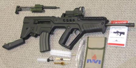 الجيش الإسرائيلي يزود أفراده بمسدس رشاش حديث Tavor_dis