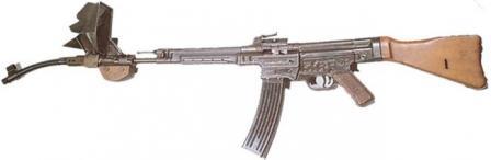 Пистолеты-пулемёты,автоматы Mp44-4
