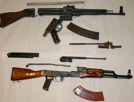 Пистолеты-пулемёты,автоматы Mp44-akm
