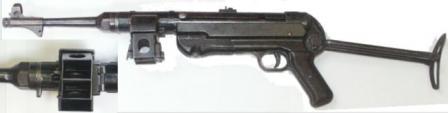 Пистолеты-пулемёты,автоматы Mp40-II