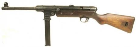 Пистолеты-пулемёты,автоматы Mp41-2