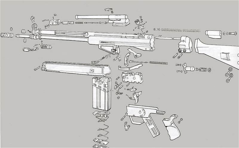 Fusil Automatico HK G3 7,62 x 51 a detalle - Página 2 Hk_g3_blow