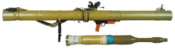 فذائفالمقاومة  في فلسطين ( قطاع غزة ) Rpg-29