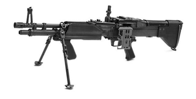 Armas ligeras y de acompañamiento de las FFAA M60e3
