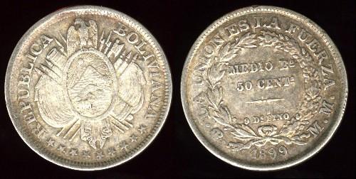 Medalla de la Independencia de Bolivia (1825) 24-161