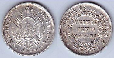 Medalla de la Independencia de Bolivia (1825) 24-159