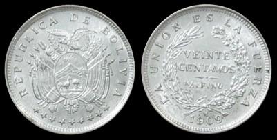 Medalla de la Independencia de Bolivia (1825) 24-176