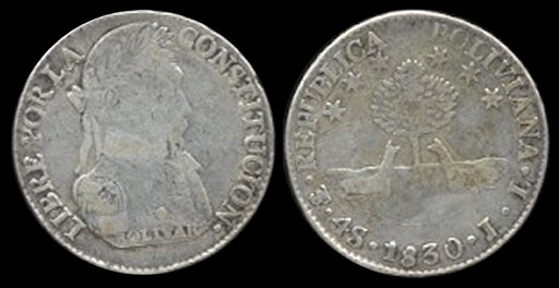 Medalla de la Independencia de Bolivia (1825) 24-96a