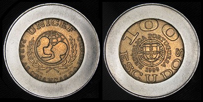 Argentina, 1 peso, 1995 (error). 145-722_1