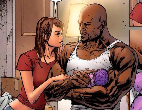 Relaciones de Luke Cage (Power Man) Luke-cage-jessica-jones