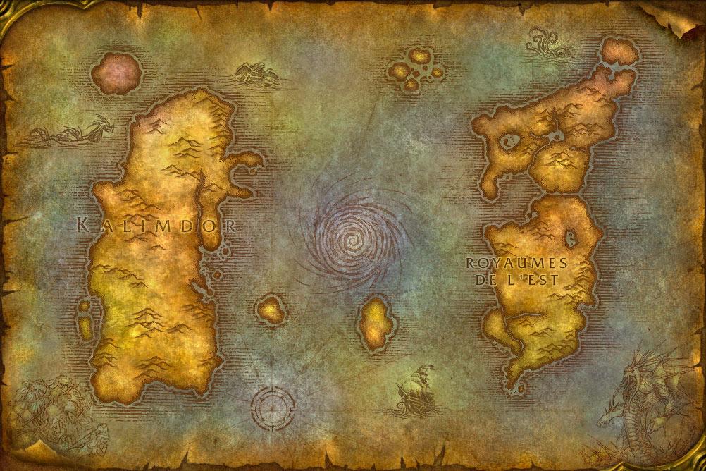 Carte du monde World