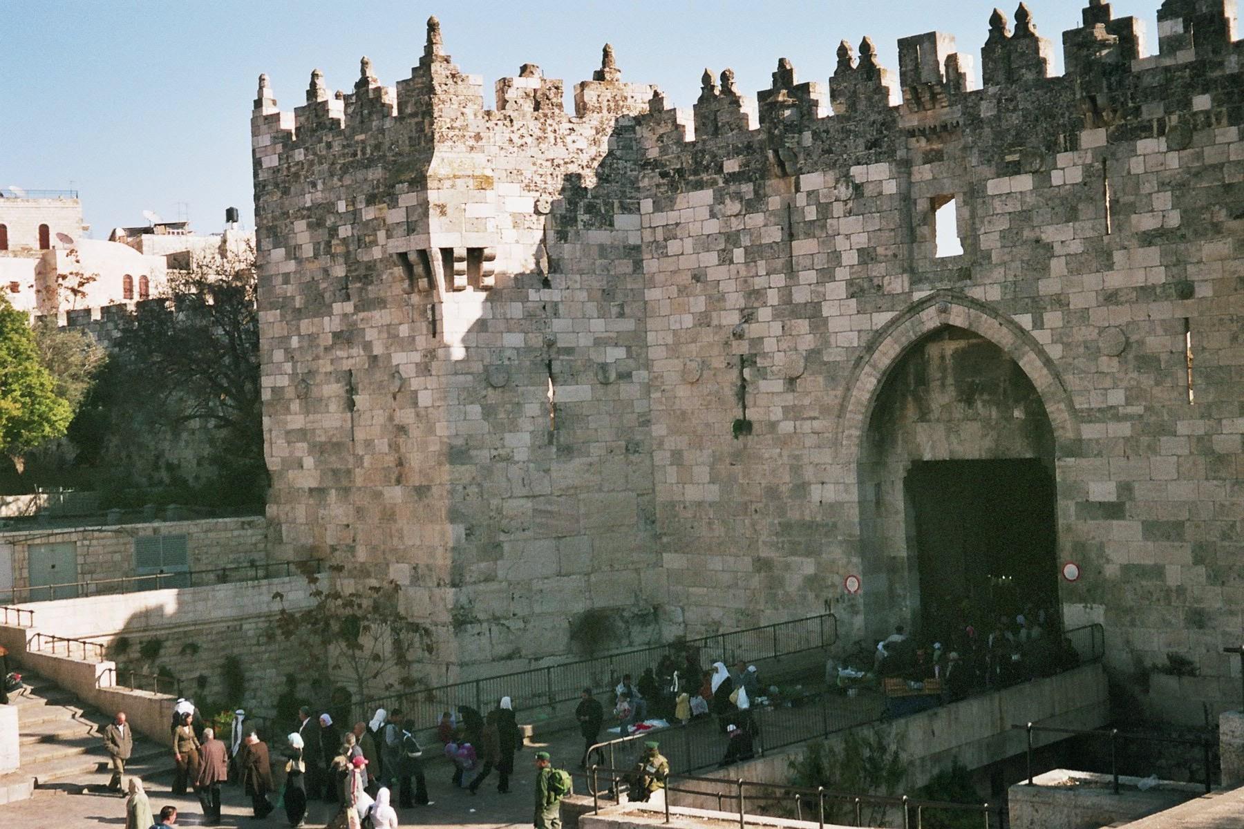 احلى بلاد سوريا Jerusalem-32-porte-de-damas