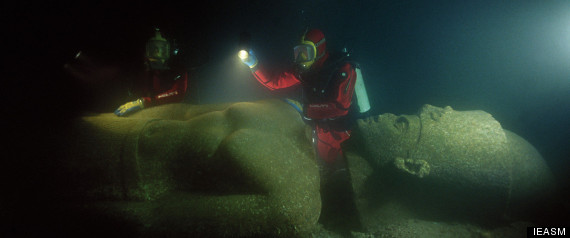 Lost Egyptian City Thonis-Heracleion Revealed After 1,200 Years Under Sea R-HERACLEION-PHOTOS-large570