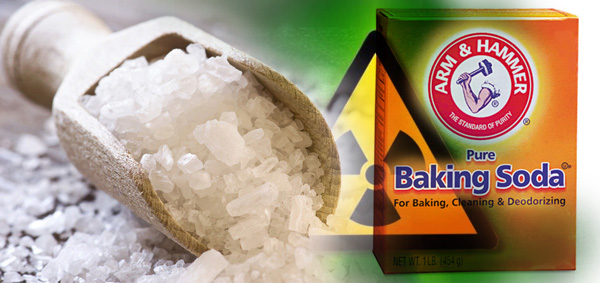 Sea Salt and Baking Soda Best All NaturalRemedy For Curing Radiation Exposure and Cancer  17612saltbakingsoda