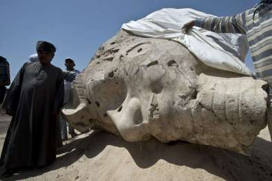 Two More Colossal Pharaoh Statues Unveiled in Egypt 469096-01-02