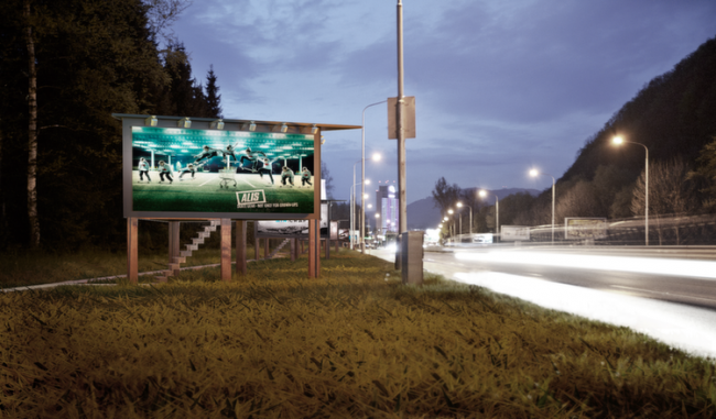 Revolutionary Designer Uses Billboards To Give Homes To Homeless Night2_copy-e1424023286785