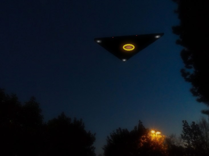 UFO News ~ UFO Passes Very Quickly Over El Cajon and MORE ARTICLE-TRIANGLE-NIGHT-EDIT-KEN-PFEIFER-1-20-16