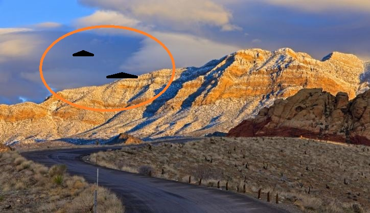 UFO News ~ LARGE TRIANGLE ENCOUNTER IN ARIZONA'S CANYON and MORE ARTICLE-CANYON-TRIANGEL-KEN-PFEIFER-4-3-16