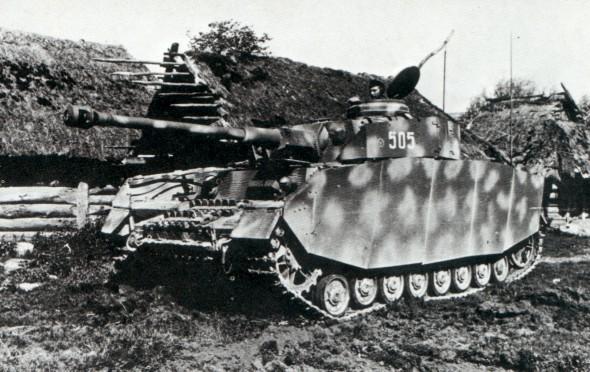 Le Panzer IV Panzer4f